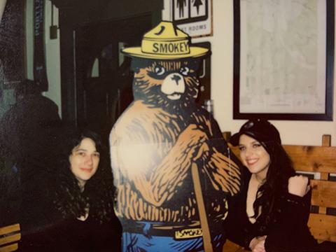 Agata, Smokey Bear & Anastasia in Portland