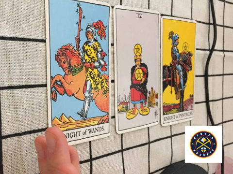 Tarot spread for The Nuggets
