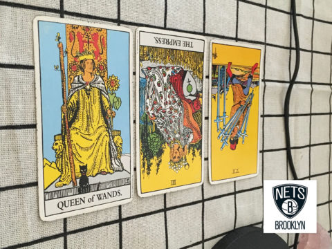 Tarot spread for The Nets