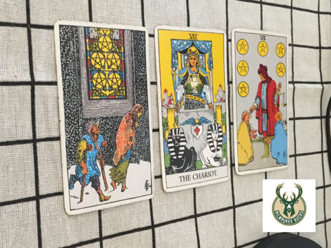 Tarot spread for The Bucks
