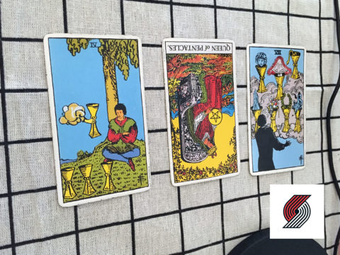 Tarot spread for The Blazers