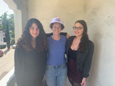 Anastasia, Adrienne & Agata