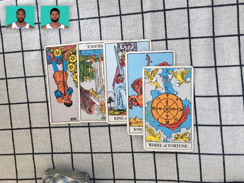Tarot spread for Kawhi Leonard & Paul George