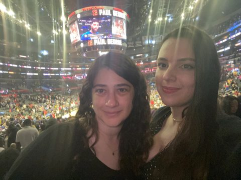 Anastasia & Agata at STAPLES