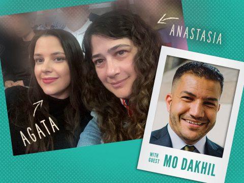 Agata & Anastasia, guest Mo Dakhil