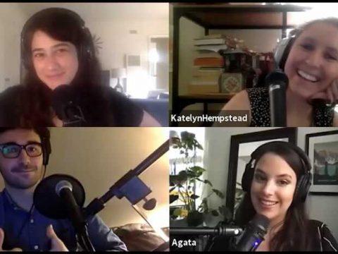Anastasia, Katelyn, Agata & Andy