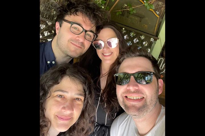 Andy, Agata, Adam & Anastasia